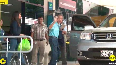 Alberto Fujimori fue dado de alta tras permanecer casi dos días internado en una clínica