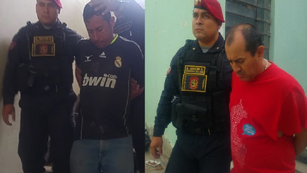 "Chiclayo: capturan a peligrosos ""marcas"" que registran varios ingresos a penal"