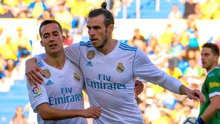 Con doblete de Gareth Bale, Real Madrid se impuso 3-0 contra las Palmas
