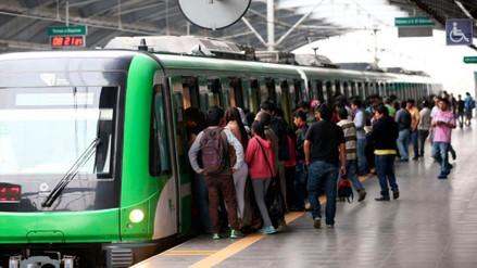 Trenes del Metro de Lima circularán cada 8 minutos y medio este Sábado Santo