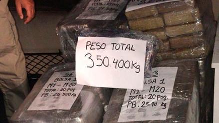 La Marina de Guerra encontró más de 300 kilos de marihuana flotando en mar de Cañete