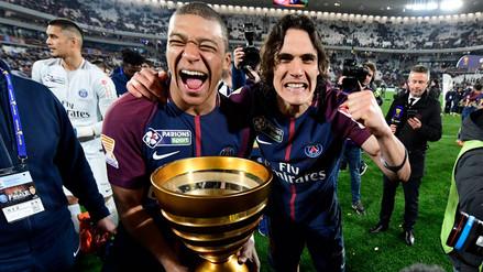 El PSG conquista la Copa de la Liga con Edison Cavani como figura
