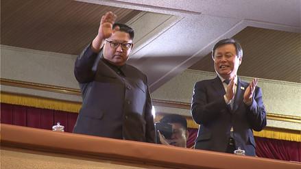Kim Jong-un asistió al primer concierto de músicos surcoreanos en más de una década