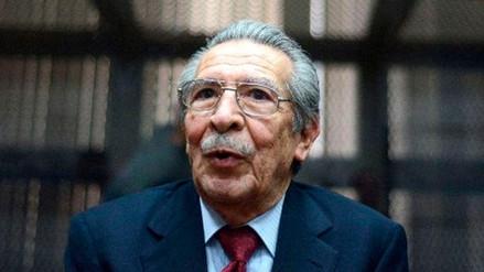 El exdictador de Guatemala Efraín Ríos Montt falleció a los 91 años