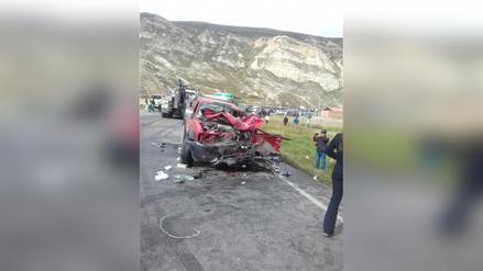 La Oroya: Un muerto y cinco heridos deja accidente de tránsito