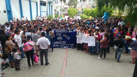 Pobladores piden se respete título del predio que está en disputa con la UNPRG
