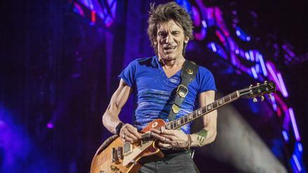 The Rolling Stones: Ronnie Wood superó cáncer al pulmón