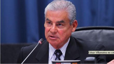 César Villanueva criticado por aceptar cargo de premier