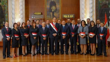 Cifras y antecedentes de los ministros que integran el gabinete de César Villanueva