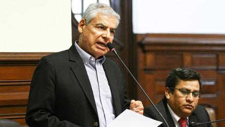 Villanueva dijo que Barata fue el representante de la Confiep para la asociación Amazinver