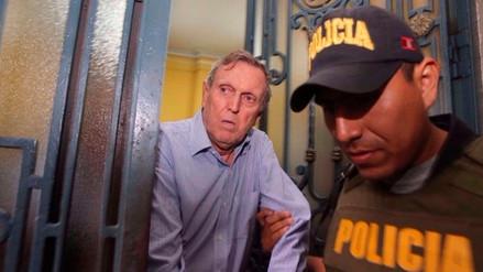 Sala Penal de Apelaciones dispuso liberación de José Graña Miró Quesada