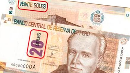 BCRP pone en circulación nuevo billete de S/ 20