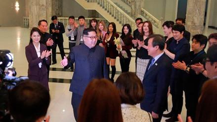 Kim Jong-un quedó