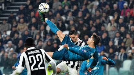 Cristiano Ronaldo marcó un golazo de chalaca ante Juventus