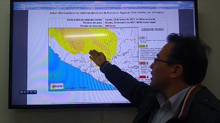 Sensación de frío se incrementará en Arequipa