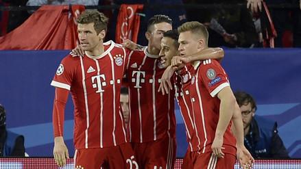 Bayern Múnich volteó el marcador y derrotó al Sevilla por la Champions League
