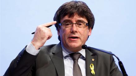 Fiscalía de Alemania pidió la extradición de Puigdemont por rebelión y malversación