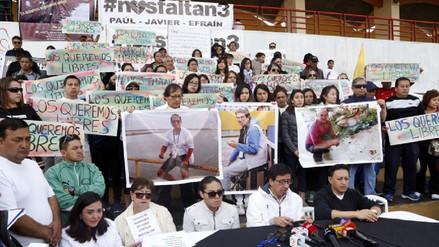 Revelan en Colombia video de periodistas de Ecuador secuestrados en frontera