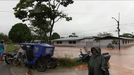 Ugel de Moyobamba suspendió clases en 3 colegios por inundaciones