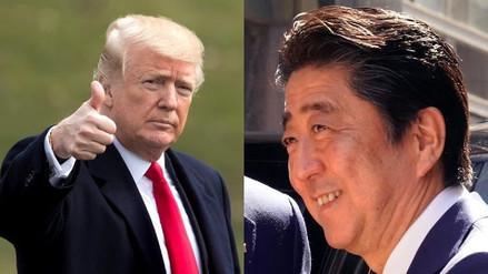 Donald Trump recibirá a Shinzo Abe los días 17 y 18 para hablar sobre Corea del Norte