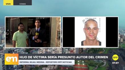 El hijo de una de las víctimas de Carabayllo es el principal sospechoso del doble asesinato