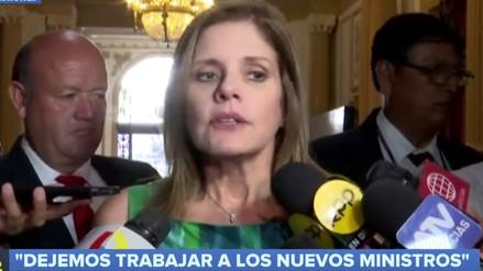 Araoz: Gabinete Villanueva debe basar su plan de trabajo en el de Peruanos por el Kambio