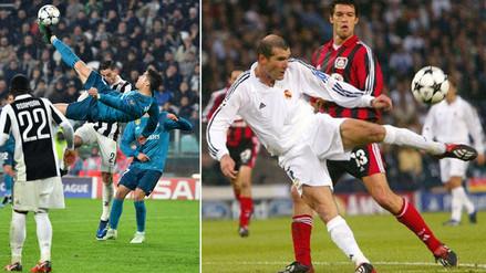 Zidane comparó su gol con la chalaca de CR7: