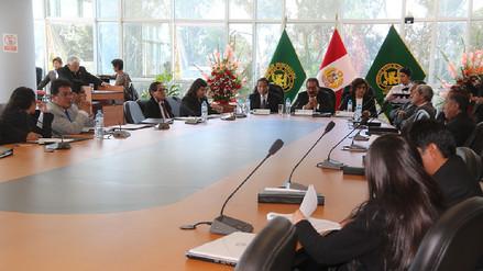 Realizan III Encuentro de Vicerrectores de investigación en Huancayo
