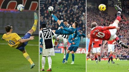 Las mejores chalacas que podrían competir con el gol de Cristiano Ronaldo