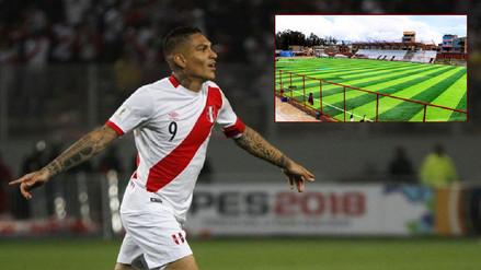 Estadio en Huancayo llevará el nombre de Paolo Guerrero