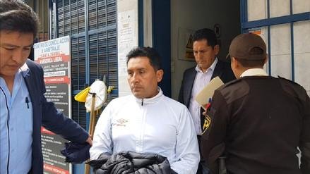 Huancayo: alcalde detenido es trasladado a Fiscalía Anticorrupción