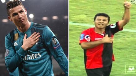 La chalaca de Ysrael Zúñiga que podría competir con la de Cristiano Ronaldo