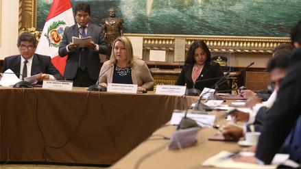 Subcomisión de Acusaciones Constitucionales declaró procedente la denuncia contra Fujimori, Bocángel y Ramírez
