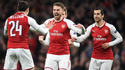 ¡Festival de toques! El golazo de Ramsey tras jugada colectiva del Arsenal