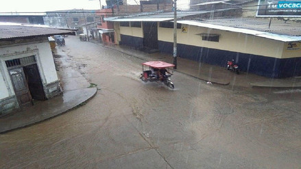 Localidades de la sierra de Piura afectadas por fuerte lluvia