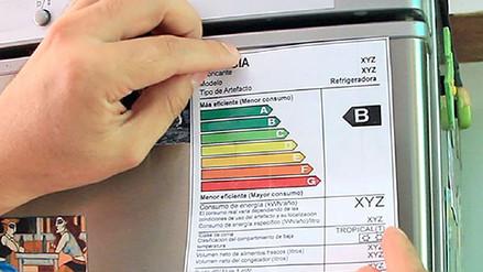 Artefactos eléctricos deberán tener etiqueta sobre consumo de energía