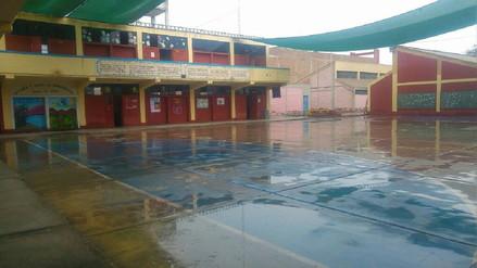 Debido a las lluvias el 60% de alumnos de José Leonardo Ortiz no acudió a clases