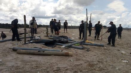 Destruyen maquinaria usada para minería ilegal en Puerto Maldonado
