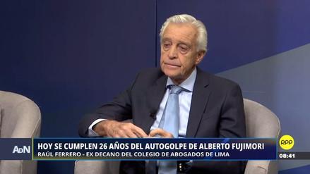 """Raúl Ferrero: """"El motor del autogolpe no fue Fujimori, fue Vladimiro Montesinos"""""""