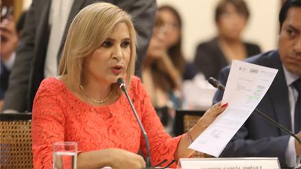 Maritza García: Mamani cometió desacato a la autoridad al no entregar los videos a la Fiscalía