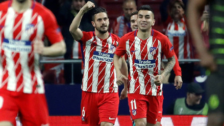 Atlético de Madrid se impuso por 2-0 al Sporting de Lisboa de local