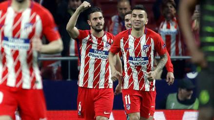 Atlético de Madrid se impuso por 2-0 al Sporting de Lisboa de local