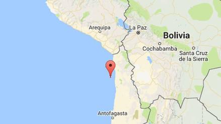Un fuerte sismo en Chile se sintió en el sur del Perú