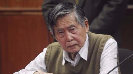 Alberto Fujimori indicó que tiene un tumor en un pulmón
