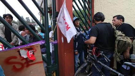 Rectorado de San Marcos autoriza ingreso de la Policía para acabar con toma de estudiantes