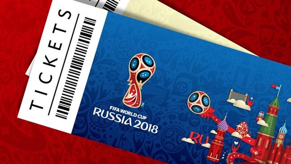 La FIFA presentó el diseño de las entradas para el Mundial Rusia 2018