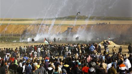 Siete palestinos muertos y más de 400 heridos en nuevas protestas en Gaza