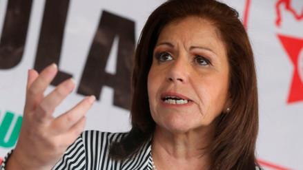 Lourdes Flores pidió investigación pulcra contra Susana Villarán