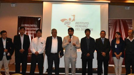 Presidentes regionales del IPD solicitan creación del Ministerio del Deporte