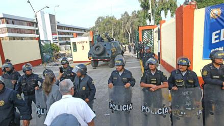 Fotos y videos | Así fue el ingreso de la Policía a la Universidad San Marcos